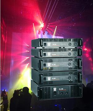 Professional power amplifier