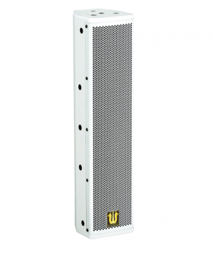 Binary frequency column array speakers