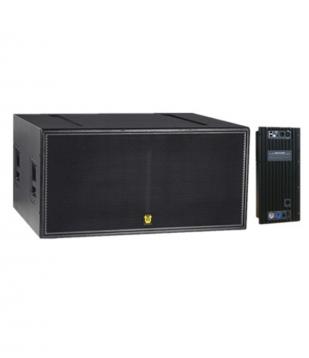 Active full frequency speaker