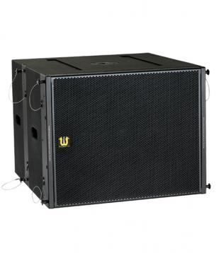 Active bass speaker