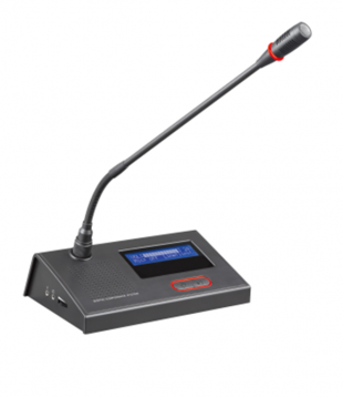 Video tracking conference microphone